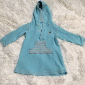 Gap Infant thermal hooded tunic dress